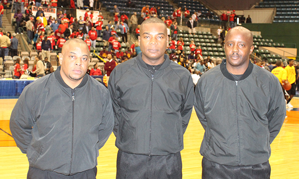 Basketball officials